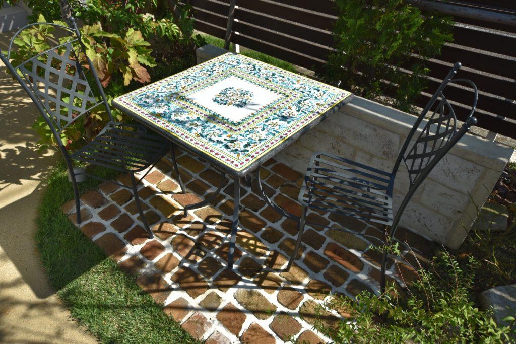 四角テーブル